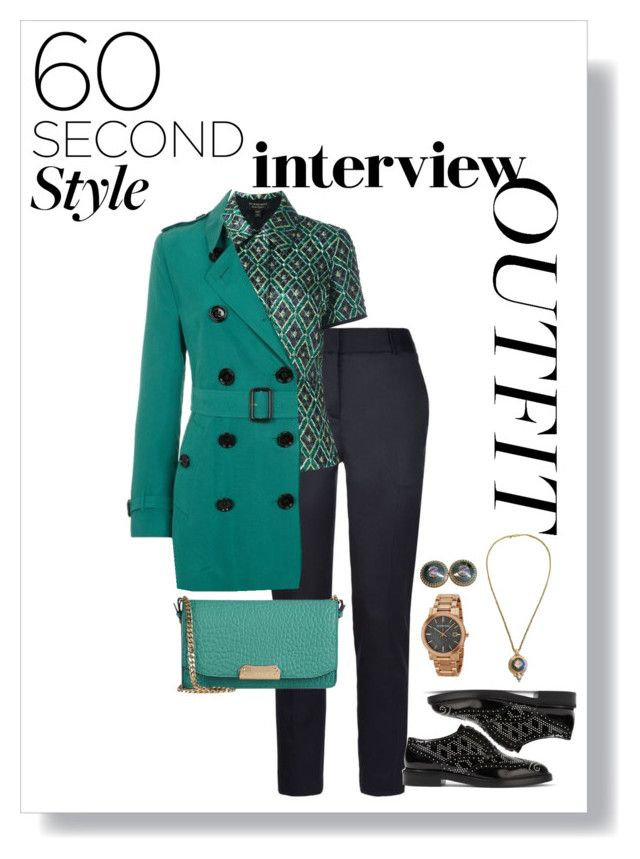 what to wear for burberry interview