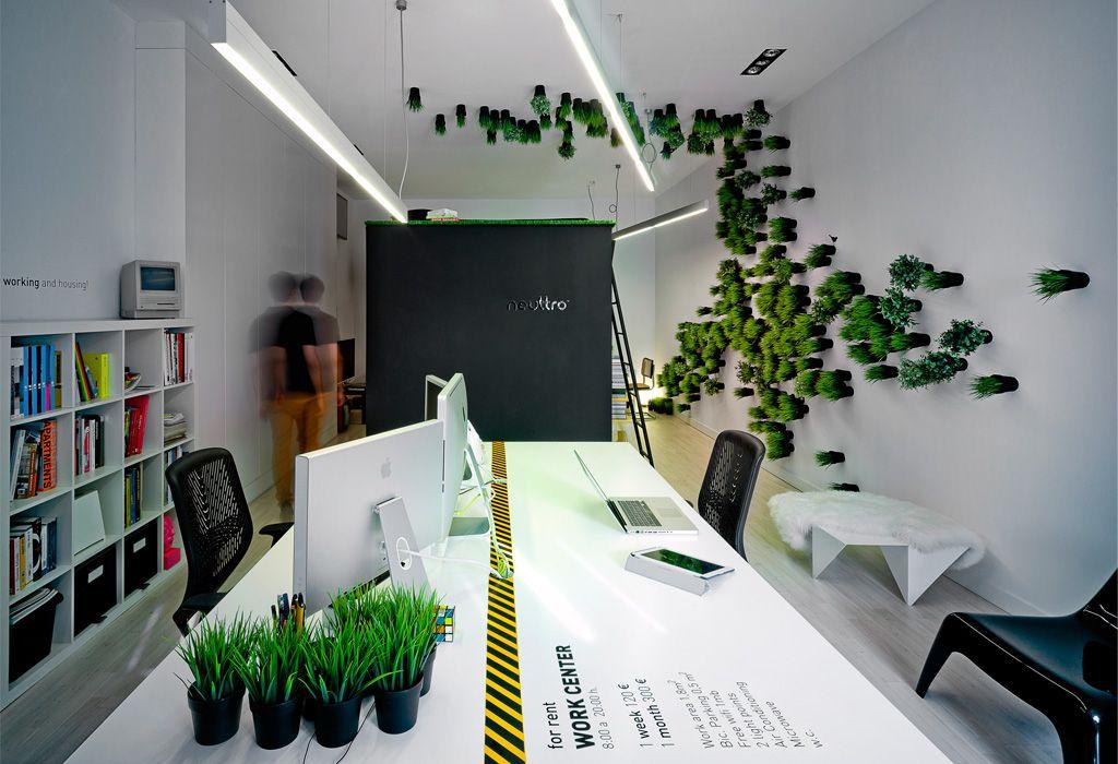 Oficina diafanas dise o de interiores en sevilla for Diseno de interiores para oficinas pequenas