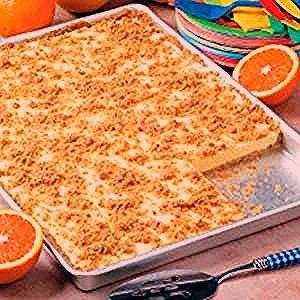 Photo of Orange Cream Freezer Dessert