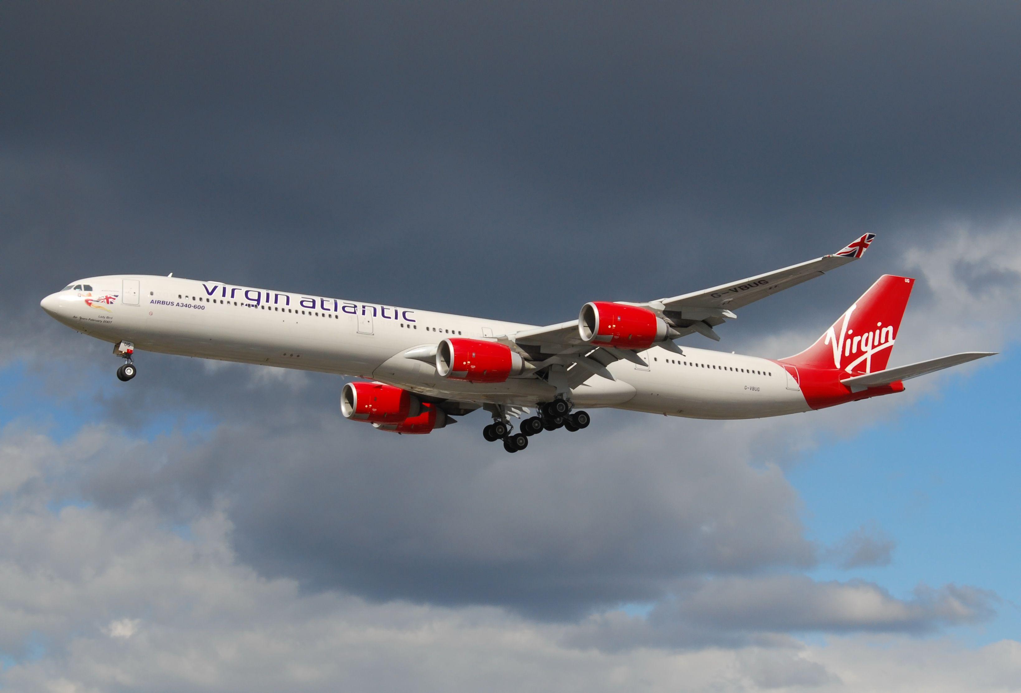 FileAirbus A340600 Virgin Atlantic Virgin atlantic