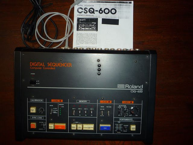 MATRIXSYNTH: Roland CSQ-600 Digital Sequencer for Analogue CV/G...