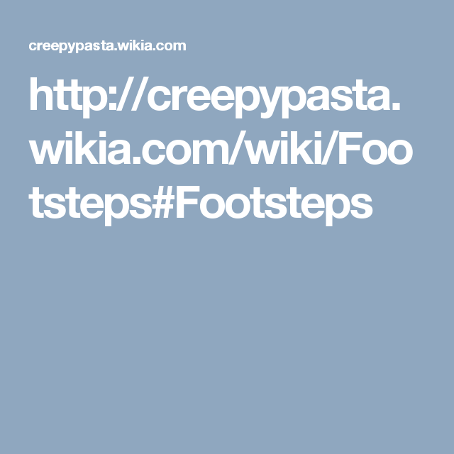 Penpal footsteps