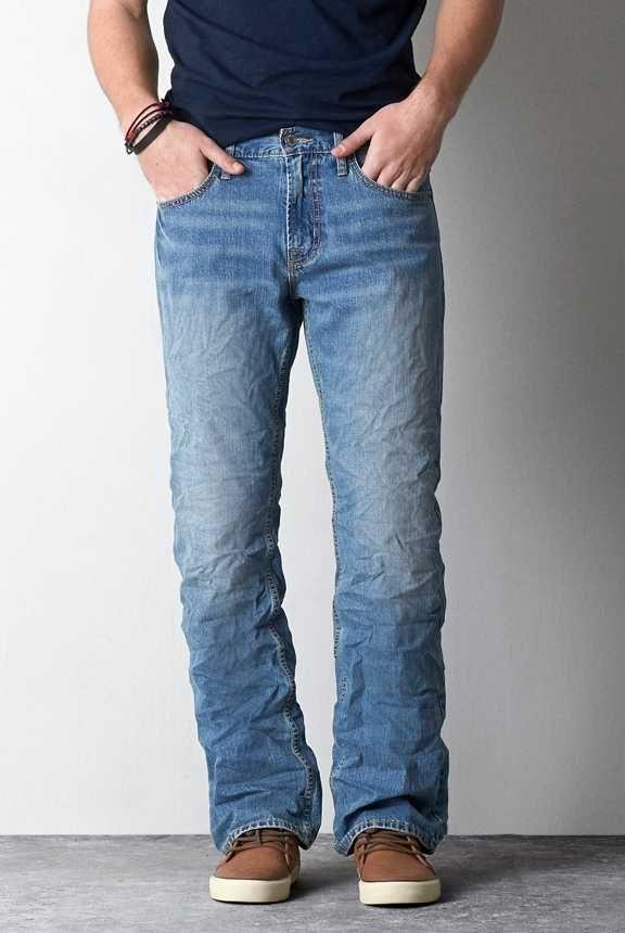 Men's Classic Bootcut Jeans   American