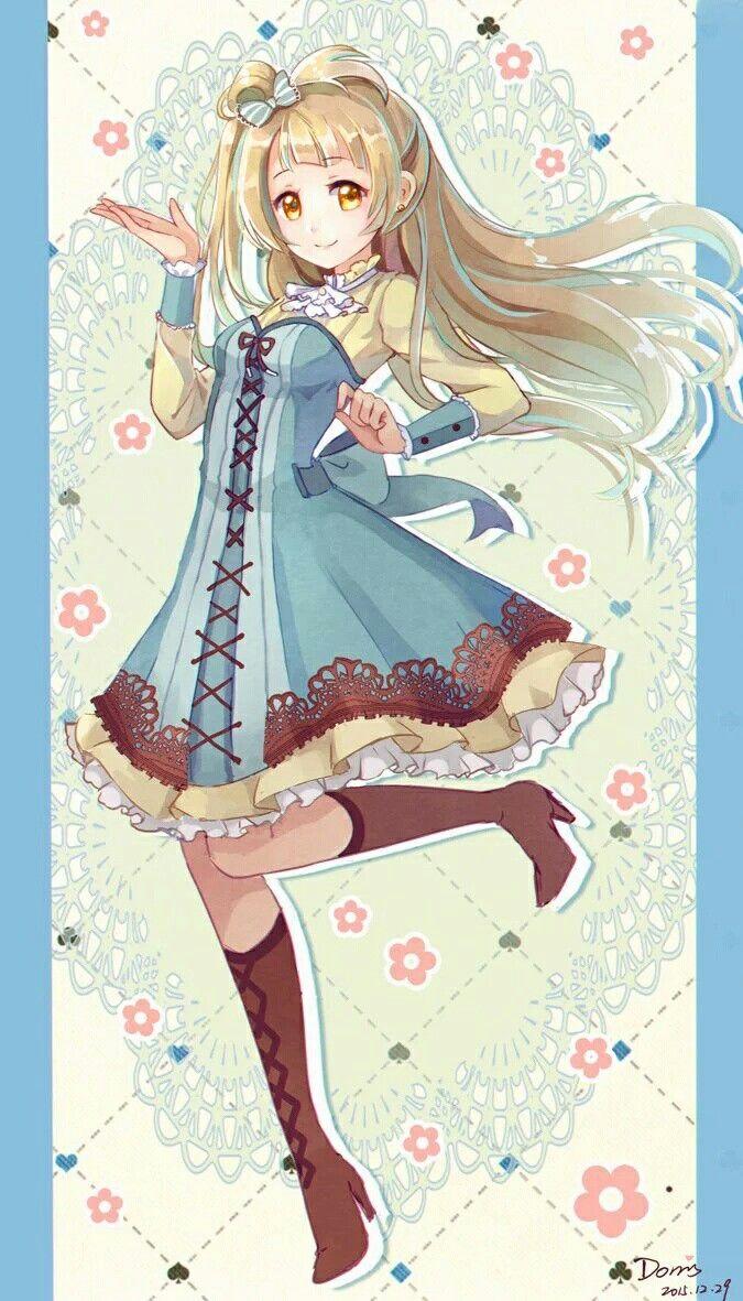 Kotori Minami victorian outfit | Animes | Pinterest | Anatomía ...
