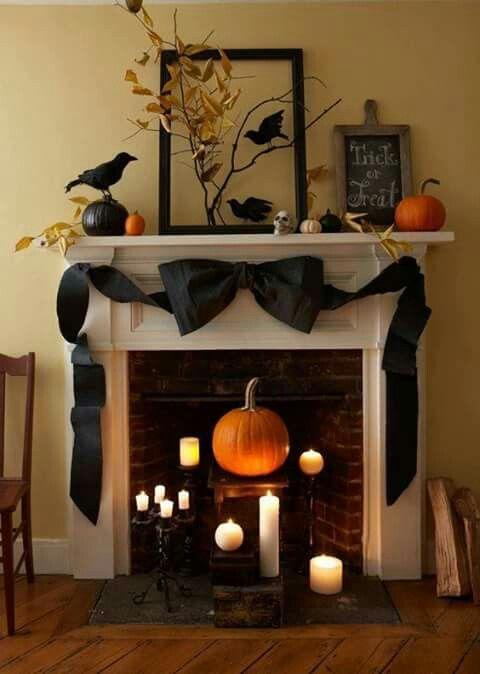 Pin by Karin Topham on Halloween Pinterest Holidays, Halloween - halloween decorations indoor ideas