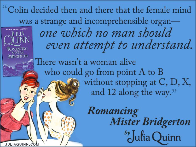 A favorite quote from Romancing Mr Bridgerton by Julia Quinn - mr cavendish i presume