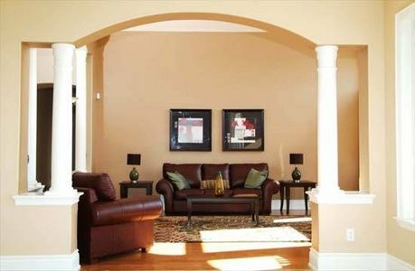 How To Paint A Room With Archways