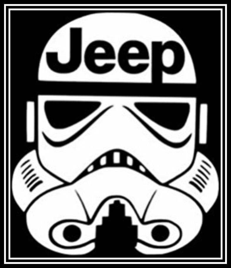 Jeep Decal Star Wars Renegade Cherokee Wrangler Darth Vader