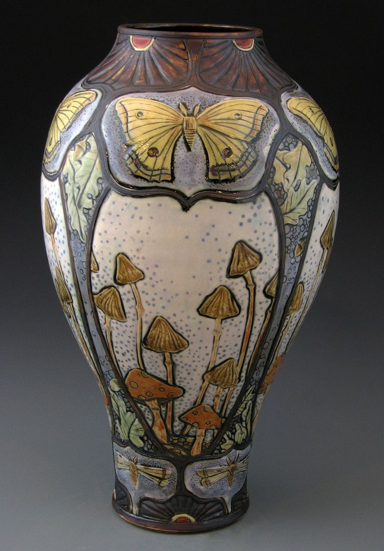 Art Nouveau Pottery The Image Kid Has It