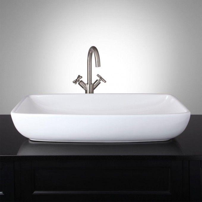 Garradd Rectangular Vessel Sink Rectangular Vessel Sink Sink