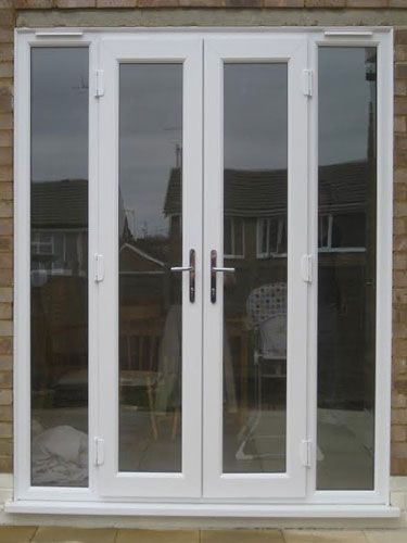 White French Doors With Side Panels Patio Doors In 2019