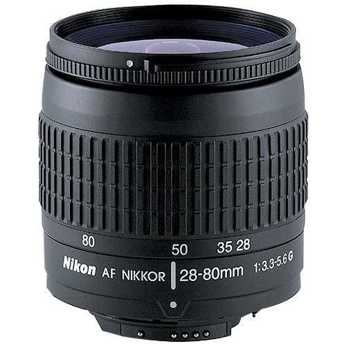 Nikon 28 80mm F 3 3 5 6g Autofocus Nikkor Zoom Lens Zoom Lens Autofocus Lens