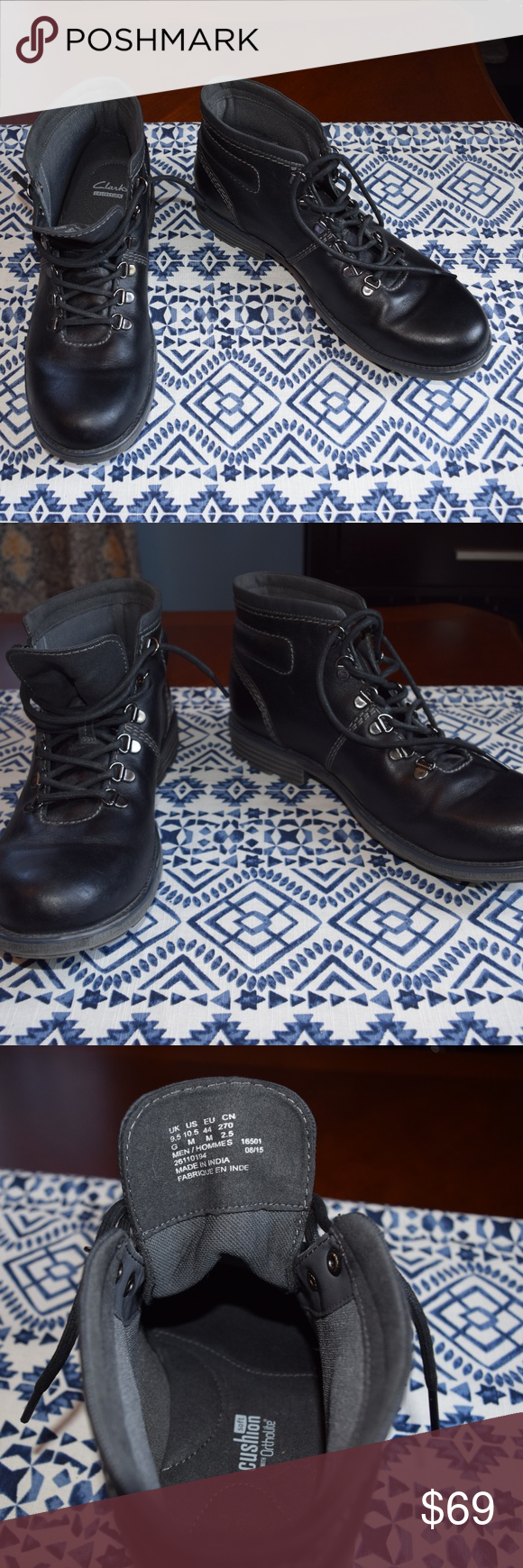 coupon code no sale tax attractive & durable NWOT Clarks collection hiking boots Beautiful black boots ...