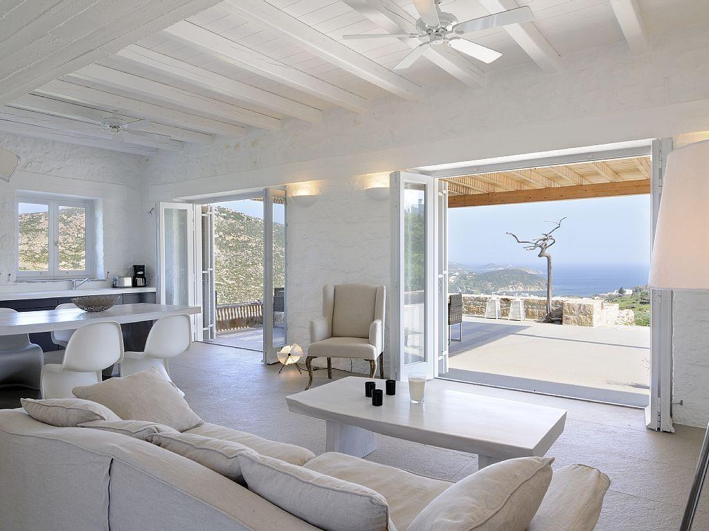 Luxus schlafzimmer mit meerblick  in Southern Aegean: 4 Schlafzimmer, für bis zu 9 Personen. Ruhig ...
