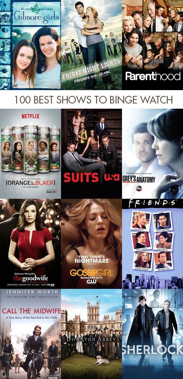 100 Best Television Shows To Binge Watch Perfect For Maternity