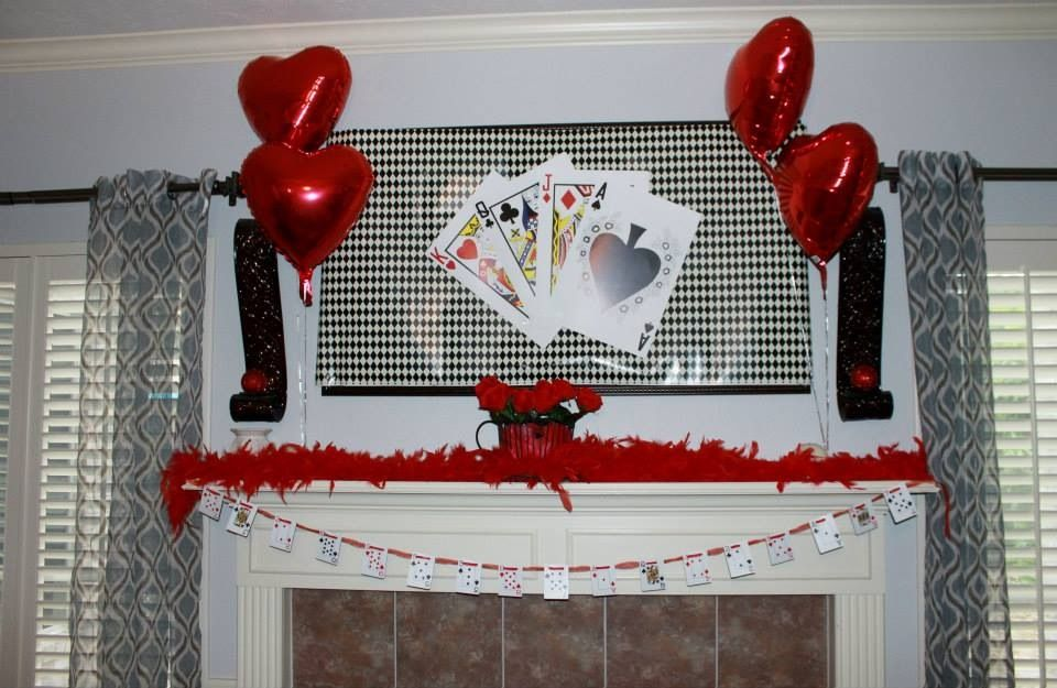 The Queen Mad Hatter Fireplace Decor Baby Shower Home Decor