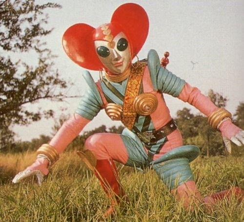 Retro Future - Retro Futurism - Vintage Sci Fi  - Alien Robot