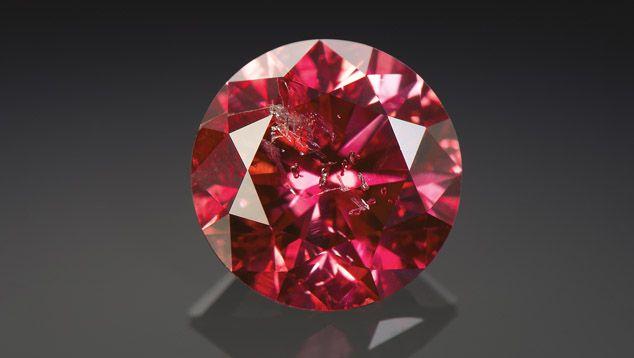 Argyle Phoenix 1 56 Ct Fancy Brilliant Cut Red Diamond
