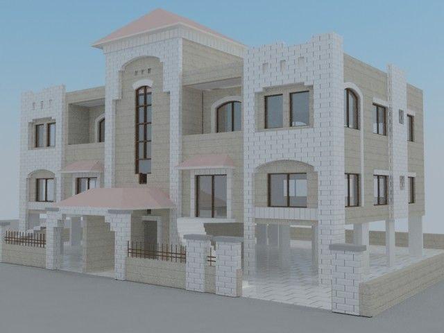 Villa Duplex 3D Model - 3D Model 3D-Modeling Pinterest Villas - faire son plan de maison en 3d