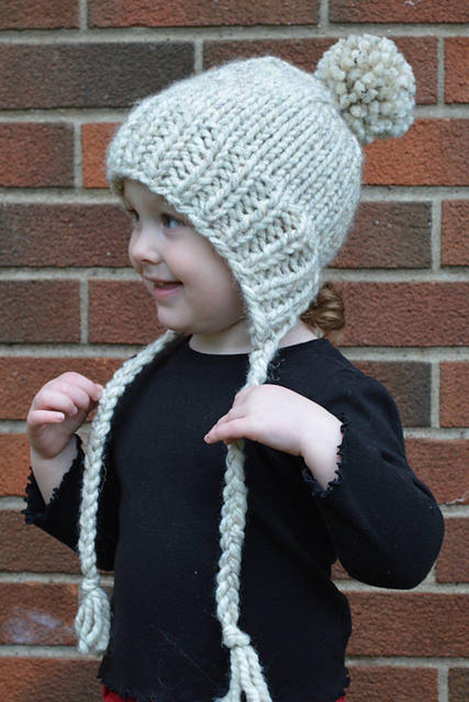 The Original Split Brim Hat Pattern - Hat Knitting Pattern ...