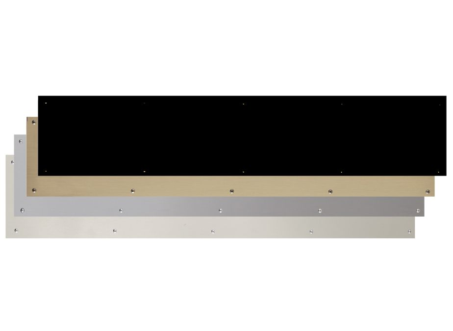 Solid Brass Kick Plate 8\  x 34\  for dog door to pub 10 finishes  sc 1 st  Pinterest & Solid Brass Kick Plate 8\