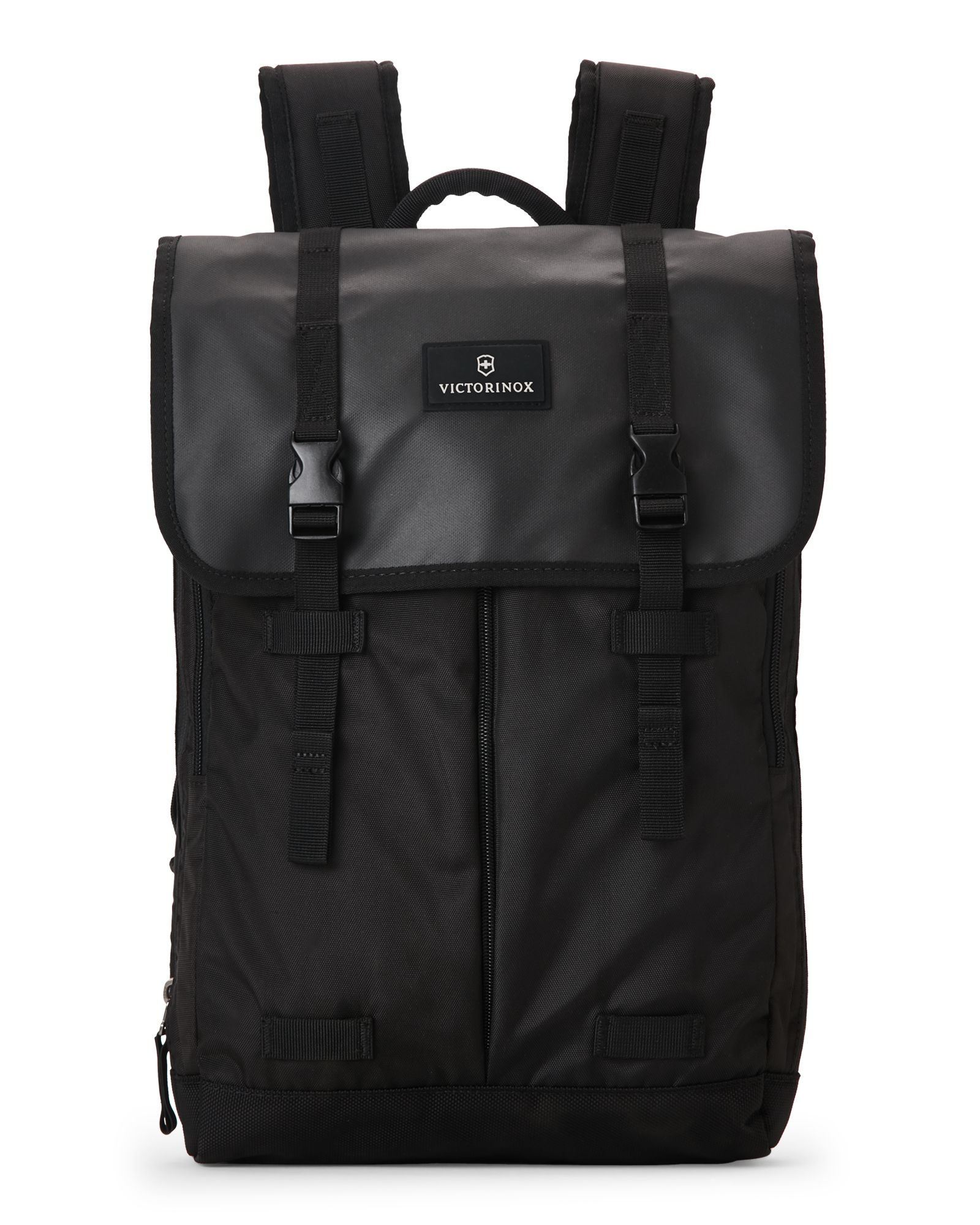 Victorinox Swiss Army Black Altmont 3.0 Flapover Laptop Backpack ...