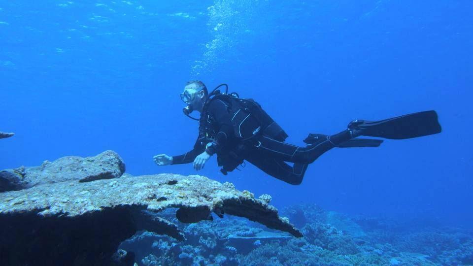 #diving  in #Addu   #maldives   #Addutraveller