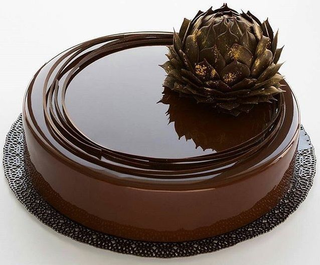 Chocolate Mirror Glaze- How to Make A Mirror Cake At Home ...