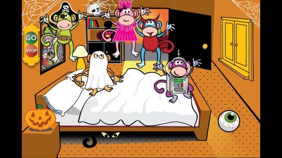 Five Little Monkeys Halloween by LoeschWare Five little