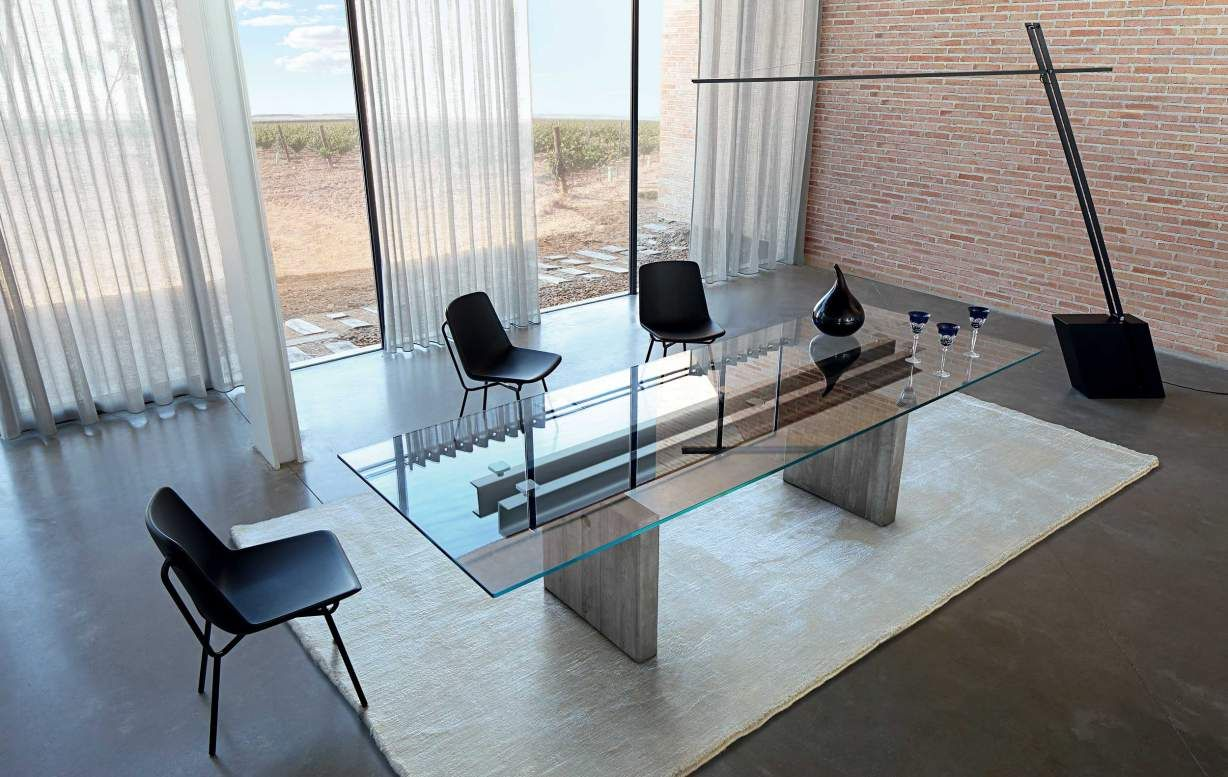 LESS IS MORE dining table from Roche Bobois | Home furnishings