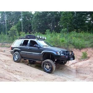 Wj Grand Cherokee Roof Rack Kevin S Off Road Overland Ready Provides The Best Fitted Jeep Grand Cherokee Wj Safari Roo Jeep Grand Cherokee Jeep Grand Jeep Wj