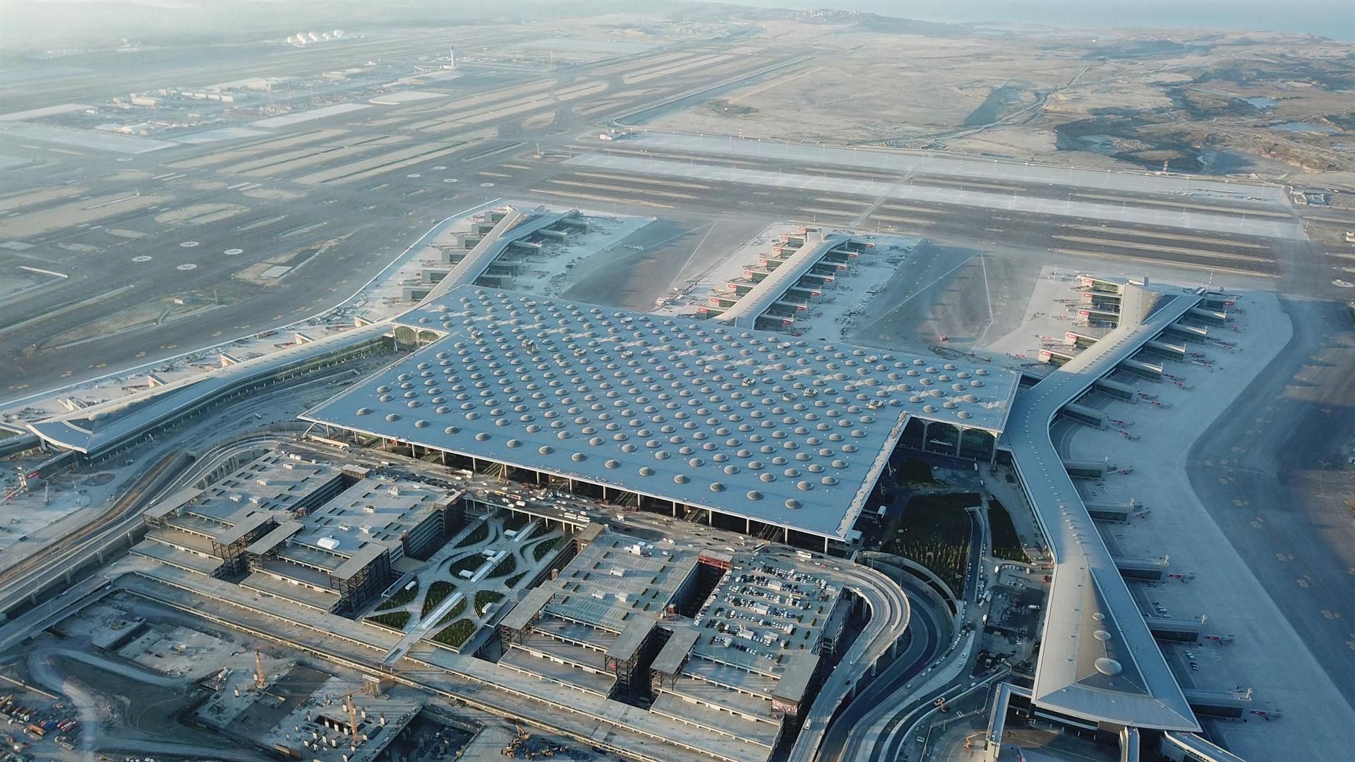 Istanbul New Airport Latest Pictures And Discussion Thread Page 6 Airliners Net In 2021 Istanbul New Airport Istanbul Airport Airport Design