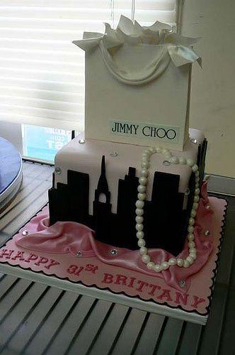 Jimmy Choo Cake Birthday Cakes For Women Cool Birthday Cakes
