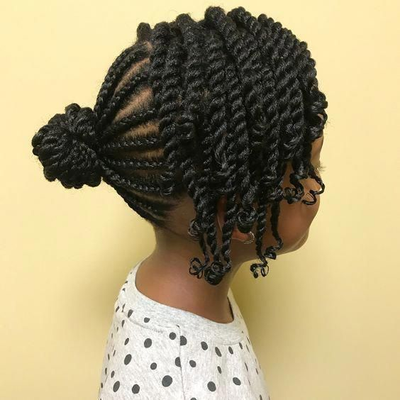 coiffures naturelles feuilletee afro /