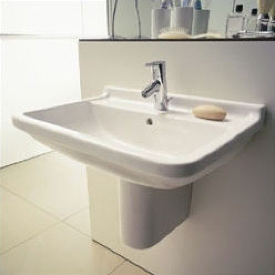 Duravit Starck 3 Top Platform Washbasin & Siphon Cover Set ...