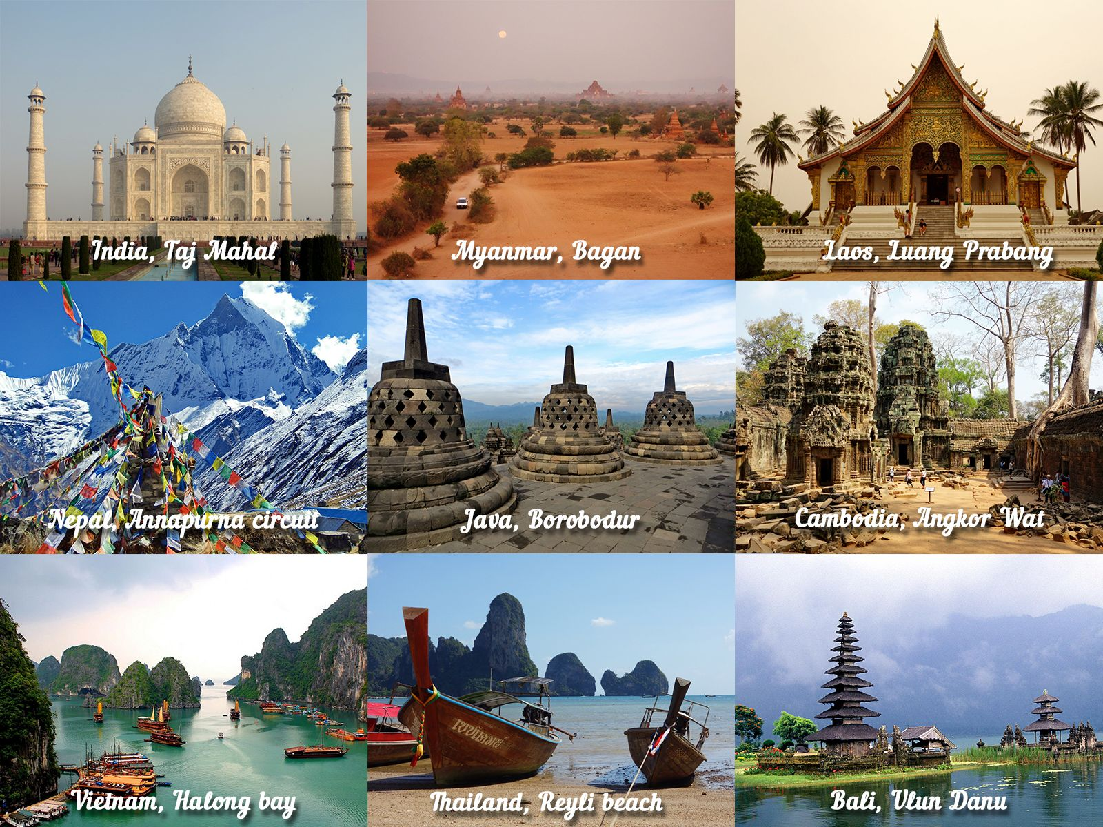 Best countries to travel in asia asia for Travel the world for cheap