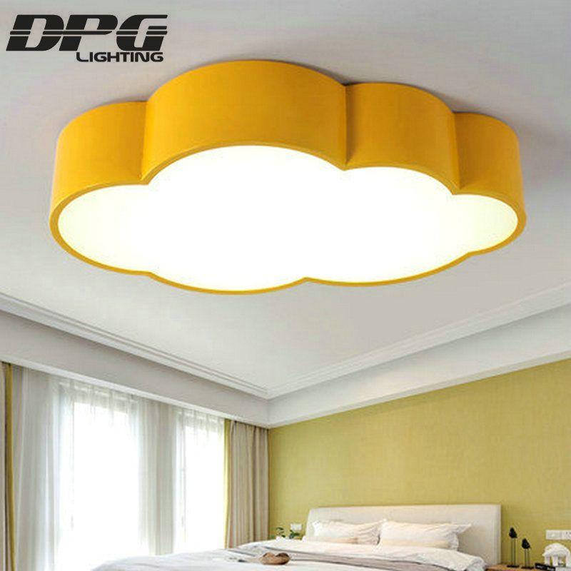 ענן Led תאורת מנורת תקרת ילדי חדר ילדים תינוק תקרה חדר שינה אור עם