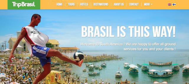Matkoja Brasiliaan : Kotisivut