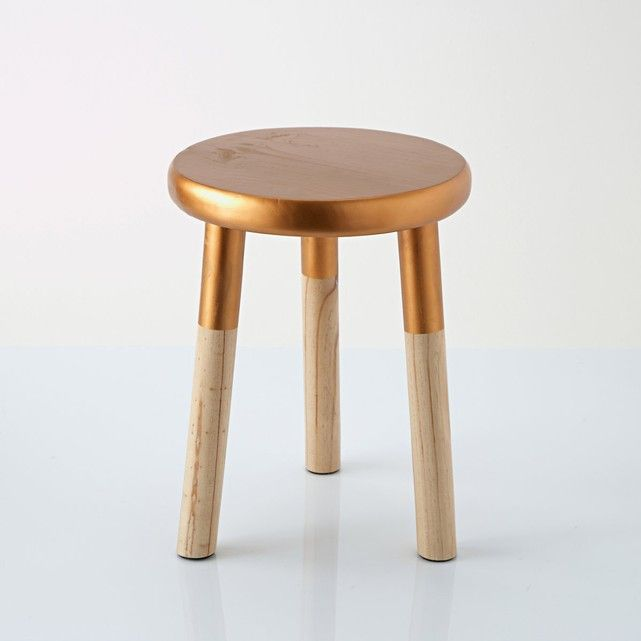 Strange Elori Copper And Wood Stool A Small Stylish And Bang On Alphanode Cool Chair Designs And Ideas Alphanodeonline
