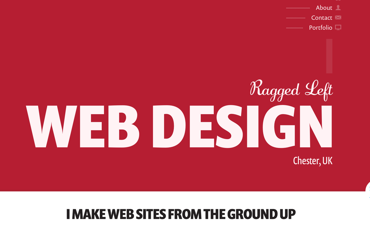 Typography sample: Prenton and Adage Script on raggedleft.co.uk (posted by @RaggedLeft) #typography #webfonts #like