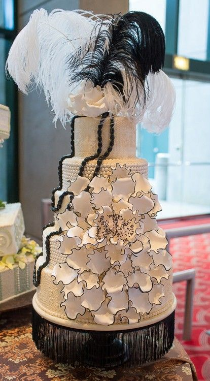 great gatsby wedding cake ideas great gatsby vintage wedding cake the cake zone fl 14928