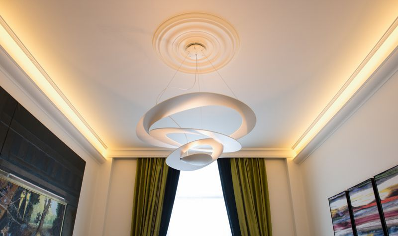 better ceiling decoration with molding georgian | R40 Plain Georgian Ceiling Rose | Ceiling decor, Ceiling ...