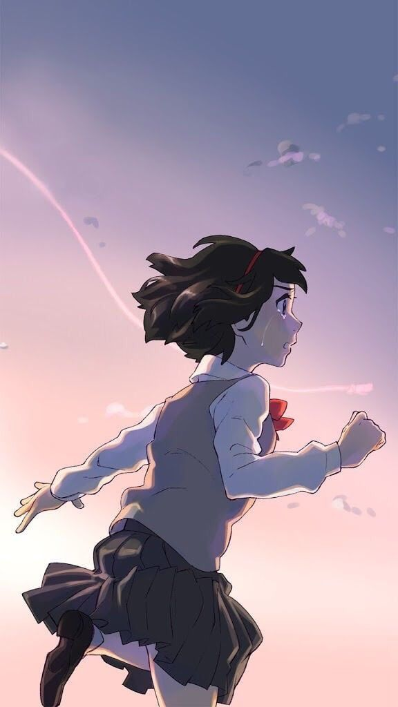 Image about love in Kimi No Na Wa 💗💫 by ~ Mira ~ ♥️