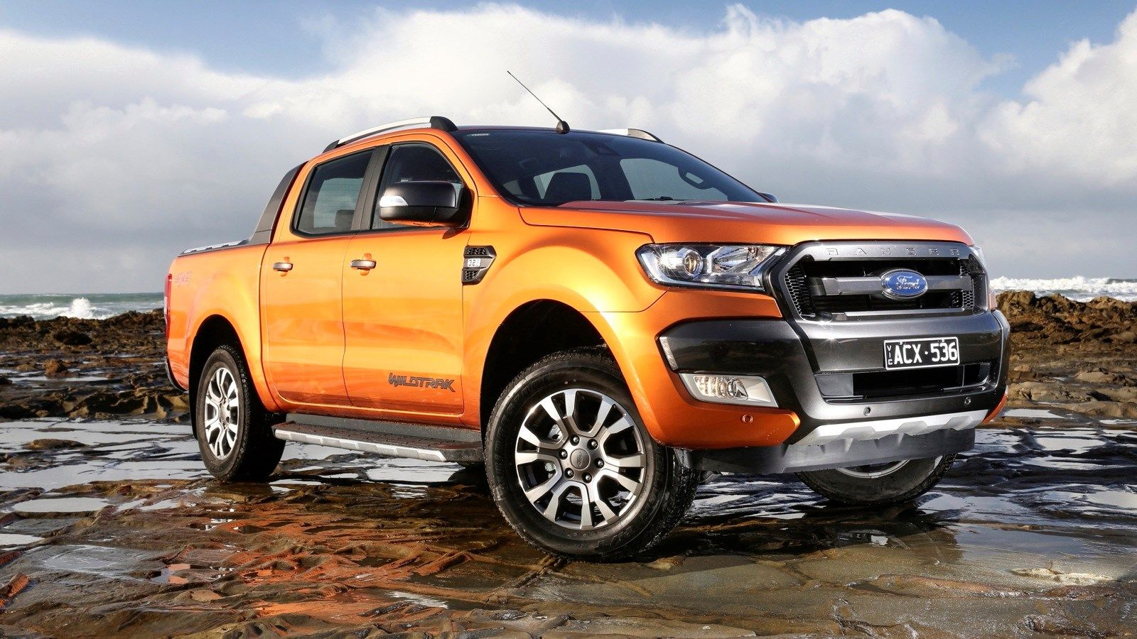In any case 2018 ford ranger wildtrak is getting bigger than its current model in all trims