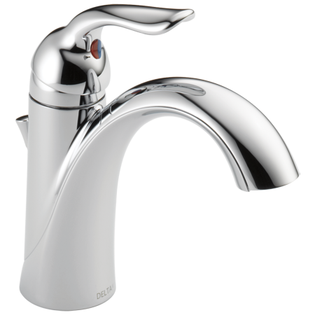 Delta Lahara Single Handle Bathroom Faucet In Chrome 538 Mpu Dst