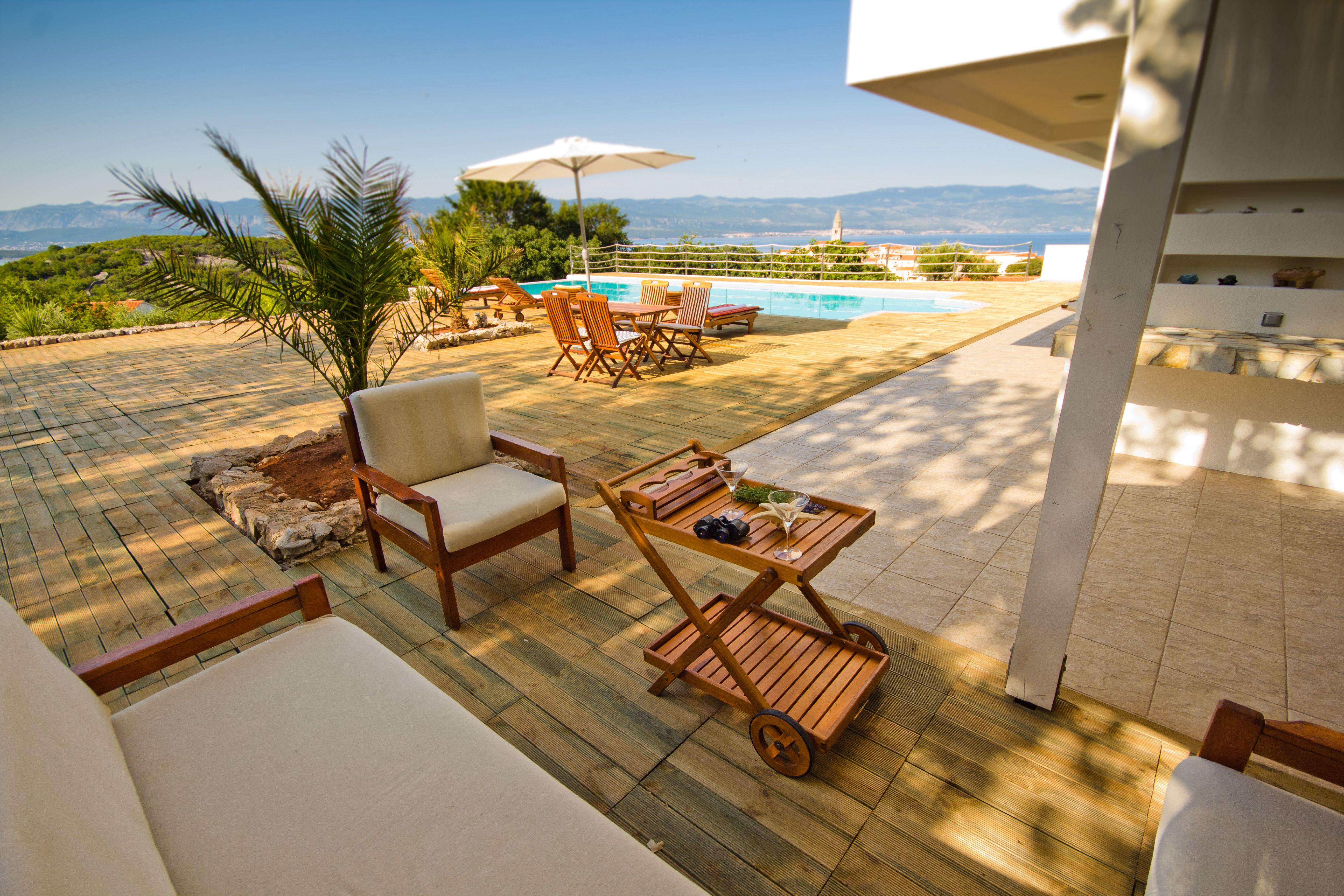 Villa Vrbnik Croatia Kvarner Krk Island 5 Bedrooms Pool Air