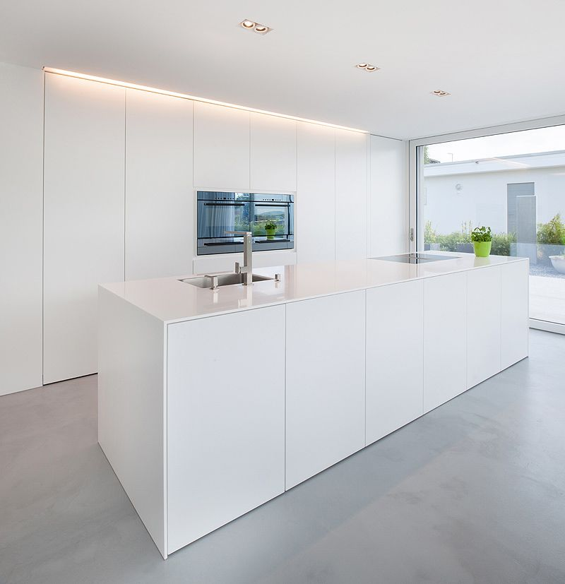 casa unifamiliar egli partner 2 kitchen inspiration k che neue k che k chen design. Black Bedroom Furniture Sets. Home Design Ideas