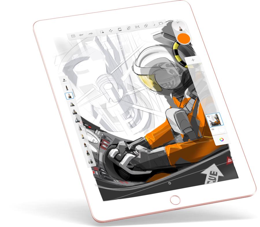 Autodesk Sketchbook Sketch book, App drawings, Pencil