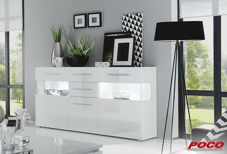 Poco Einrichtungsmarkte Sideboard Star Esstisch Dekor Sideboard Modern Sideboard