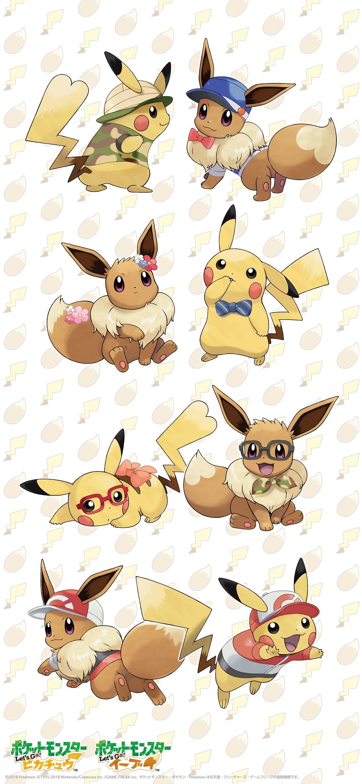Pokemon Eevee Wallpaper Phone Download This Pokemon Let S Go Pikachu Eevee Wallpaper For Pokemon Eeveelutio Eevee Wallpaper Hd Anime Wallpapers Pokemon Eevee